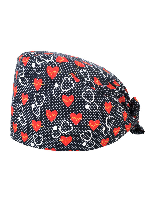 "Medical cap ""Heart and stethoscope"" (209-22156)"
