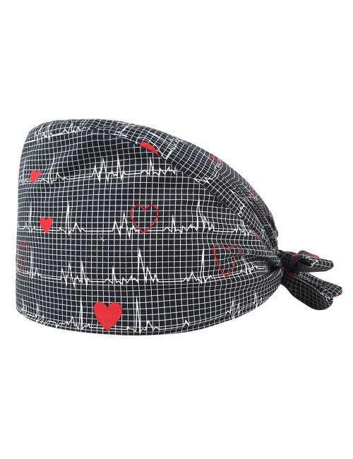 "Medical cap ""Heartbeat"" (209-22140)"