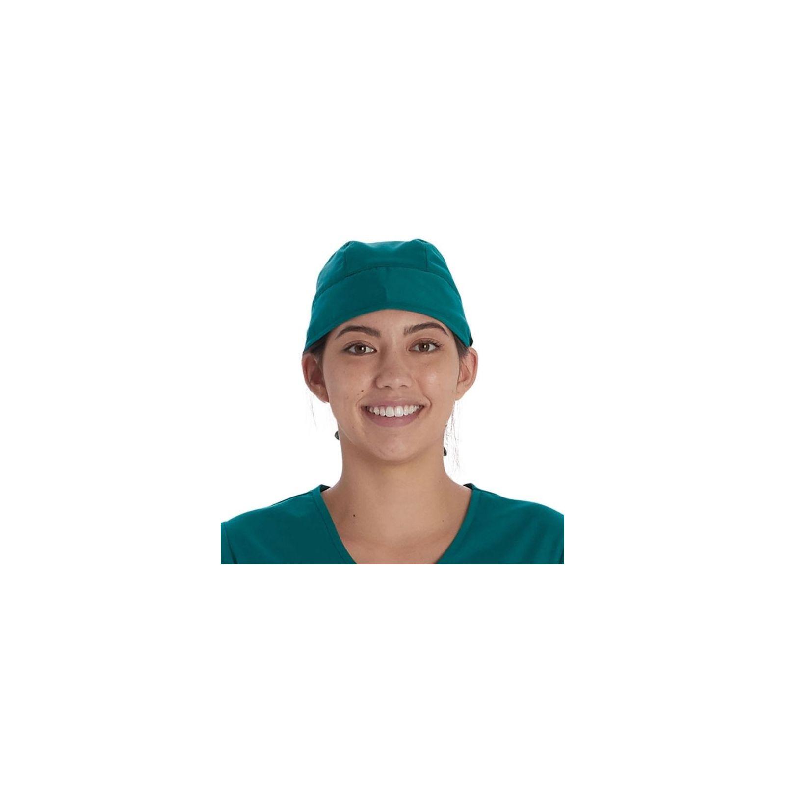 Calot médical Vert chirurgien (VT520HUN) vue face