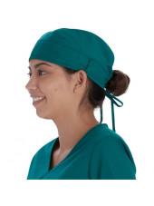 Calot médical Vert chirurgien (VT520HUN) vue gauche