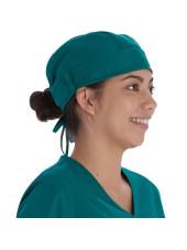 Calot médical Vert chirurgien (VT520HUN) vue droite