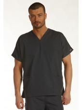 Blouse médicale Homme, 2 poches, Cherokee Workwear Originals (4700) gris vue modele face