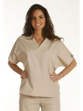 Blouse médicale Femme, 1 poche, Cherokee Workwear Originals (4777) beige