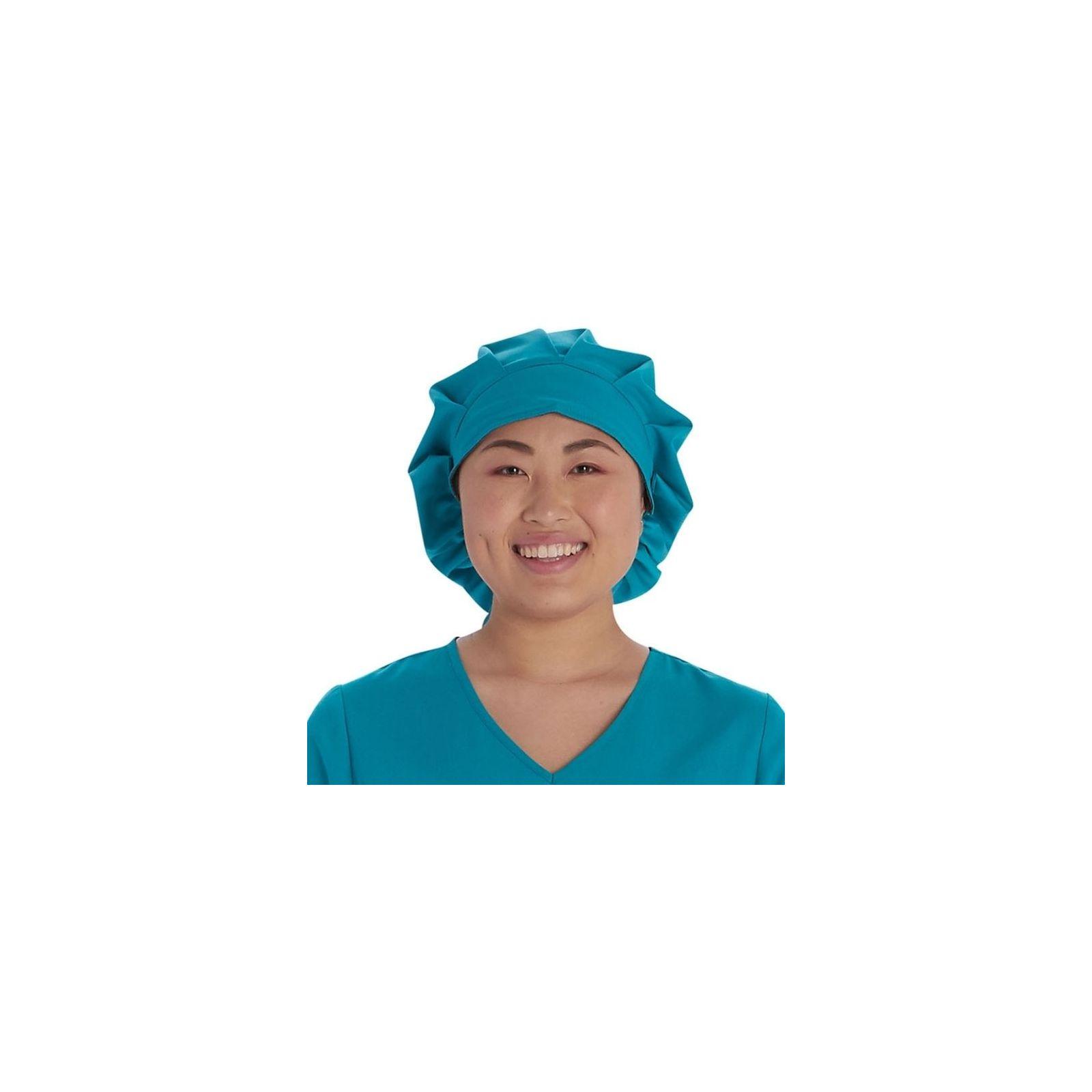 Calot médical Cheveux Longs Teal Blue (VT521TLB) vue face
