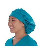 Calot médical Cheveux Longs Teal Blue (VT521TLB) vue droite