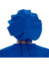 Calot médical Cheveux Longs Bleu royal (VT521ROY) vue dos