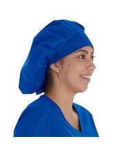 Calot médical Cheveux Longs Bleu royal (VT521ROY) vue droite
