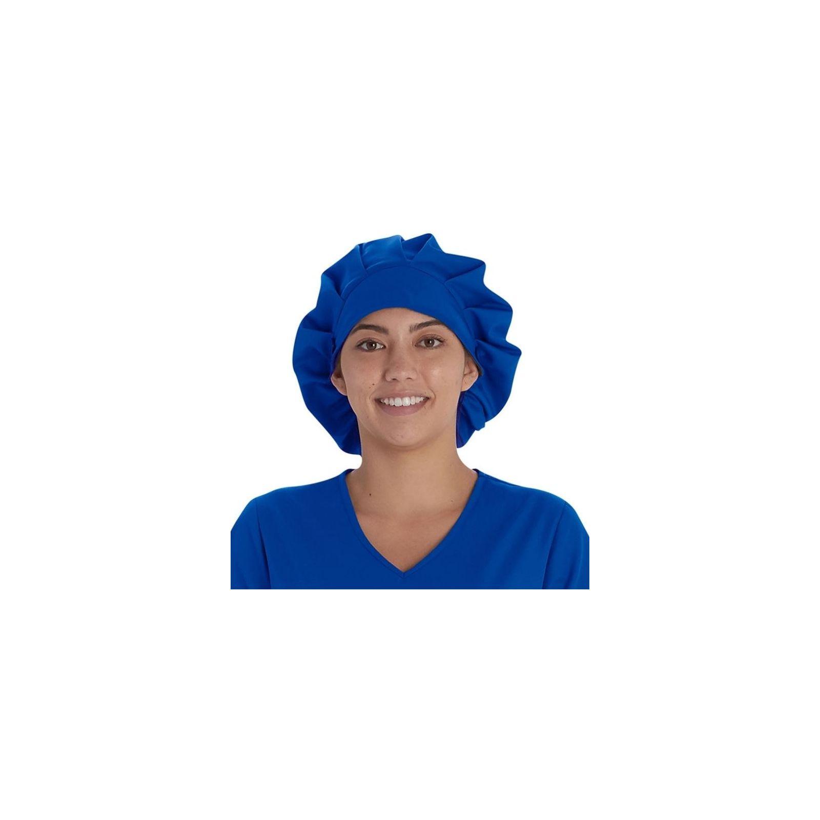 Calot médical Cheveux Longs Bleu royal (VT521ROY) vue face