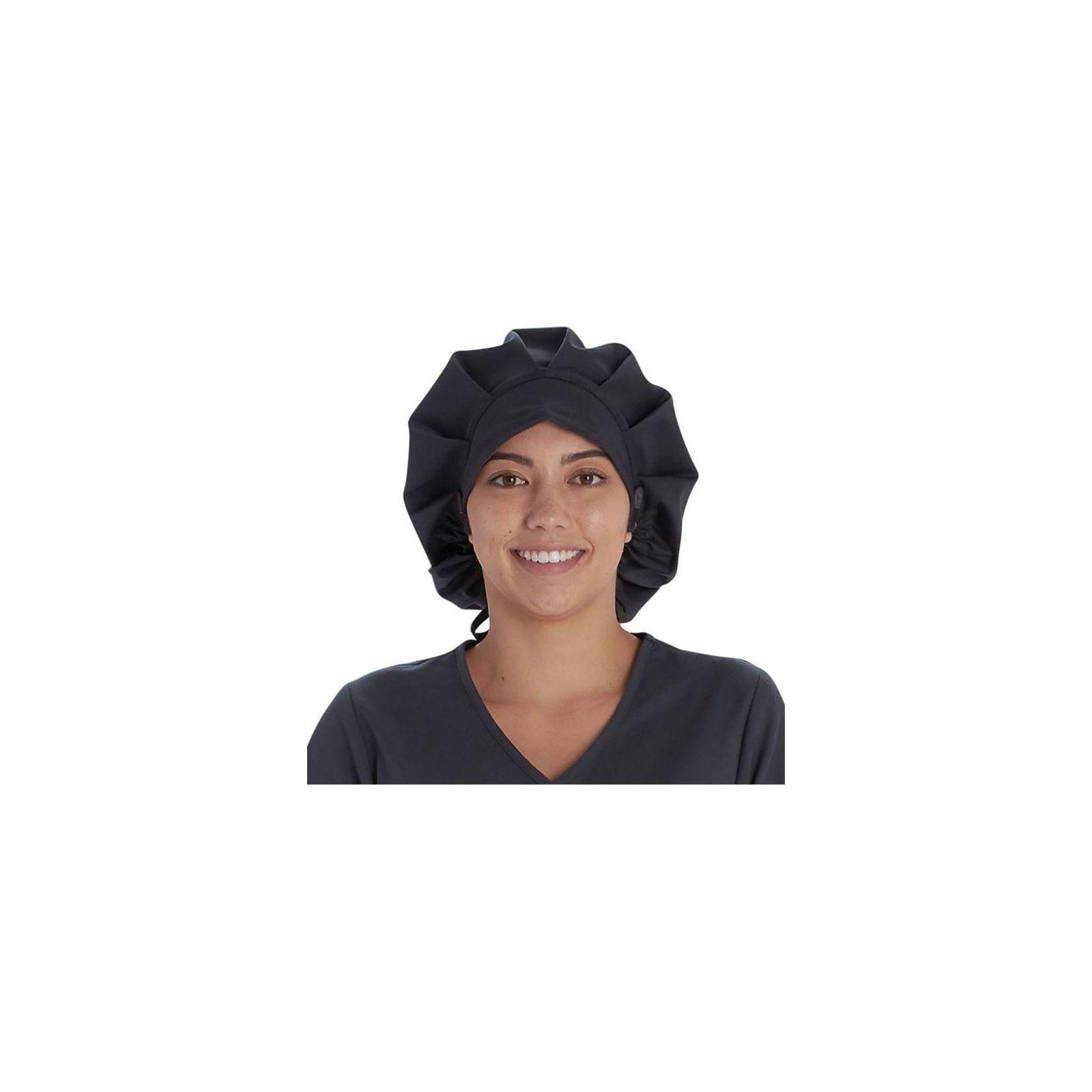 Calot médical Cheveux Longs Gris anthracite (VT521PWT) vue face