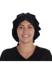 Calot médical Cheveux Longs Noir (VT521BLK) vue face