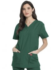Ensemble médical Blouse et Pantalon, Unisexe, Dickies (DKP520C) blouse femme face vert chirurgien
