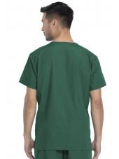 Ensemble médical Blouse et Pantalon, Unisexe, Dickies (DKP520C) blouse homme dos vert chirurgien