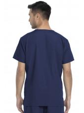 Ensemble médical Blouse et Pantalon, Unisexe, Dickies (DKP520C) blouse homme dos bleu marine