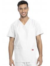 Ensemble médical Blouse et Pantalon, Unisexe, Dickies (DKP520C) blouse homme face blanc