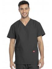 Ensemble médical Blouse et Pantalon, Unisexe, Dickies (DKP520C) blouse homme face gris