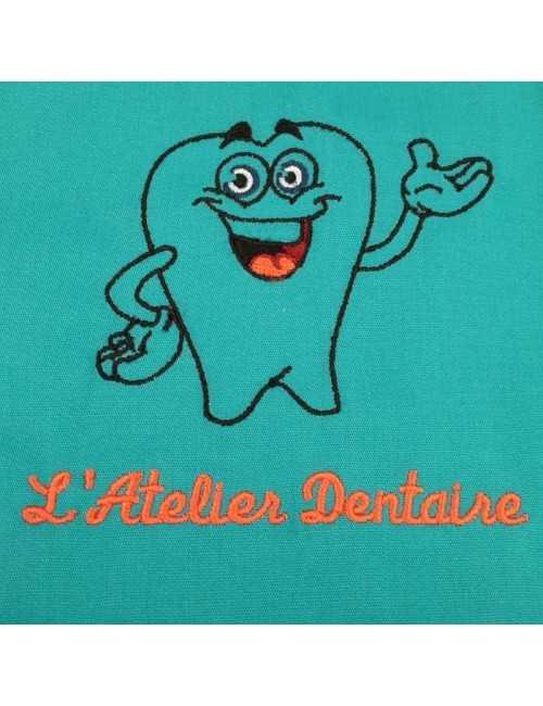Broderie dentiste