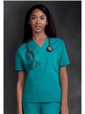 Blouse médicale Femme, 1 poche, Cherokee Workwear Originals (4777) turquoise face