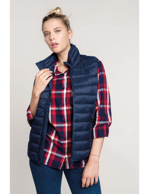 Women's lightweight sleeveless jacket (K6114)