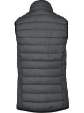 Doudoune légère sans manches Femme (K6114) gris produit dos