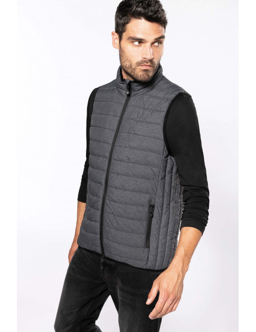 Men's lightweight sleeveless jacket (K6113)