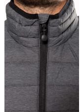 Doudoune légère sans manches Homme (K6113) gris col