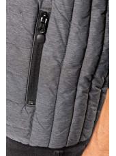 Doudoune légère sans manches Homme (K6113) gris poche