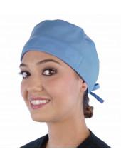 Calot médical Bleu Ciel (210-1134) vue face