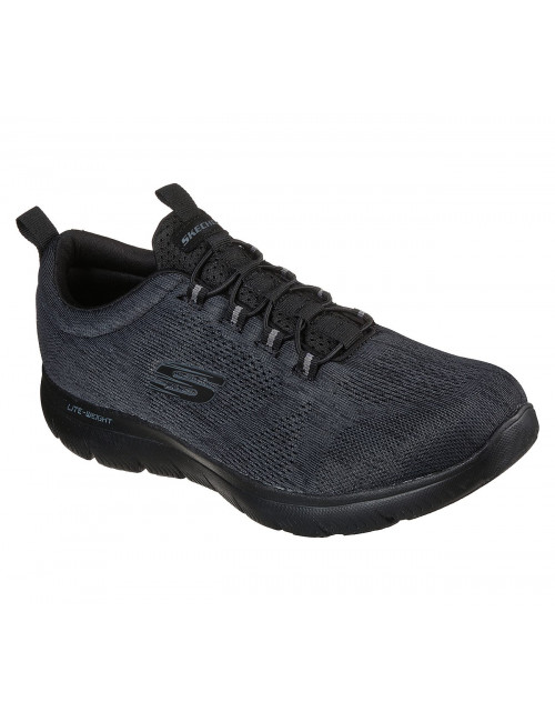 Baskets Homme Skechers, Summits Louvin Noires (232186)