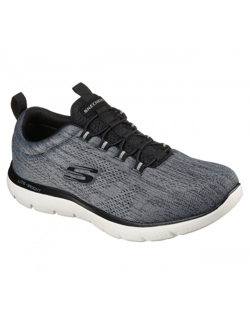 Baskets Homme Skechers, Summits Louvin Grises (232186) vue face