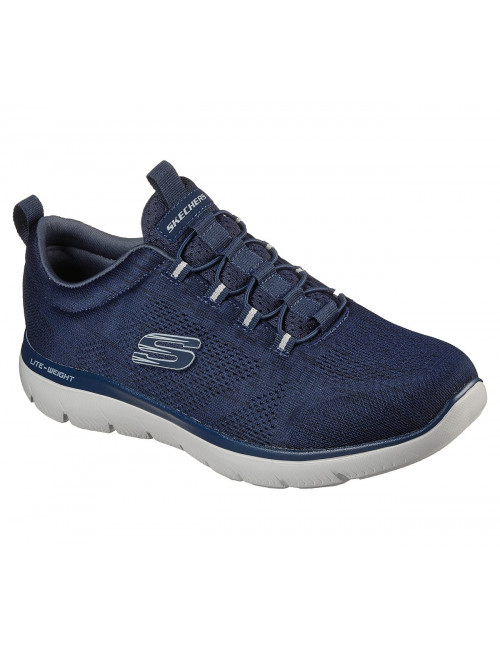 Men's Skechers, Summits Louvin Sneakers Navy Blue (232186)