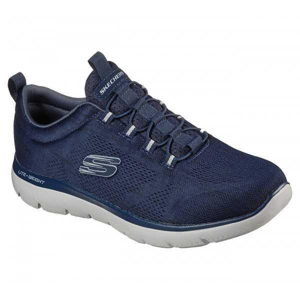 Baskets Homme Skechers, Summits Louvin Bleu Marine (232186)