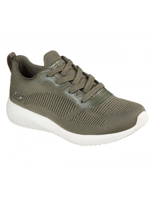 Baskets Femme Skechers Tough Talk Kaki (32504) vue face