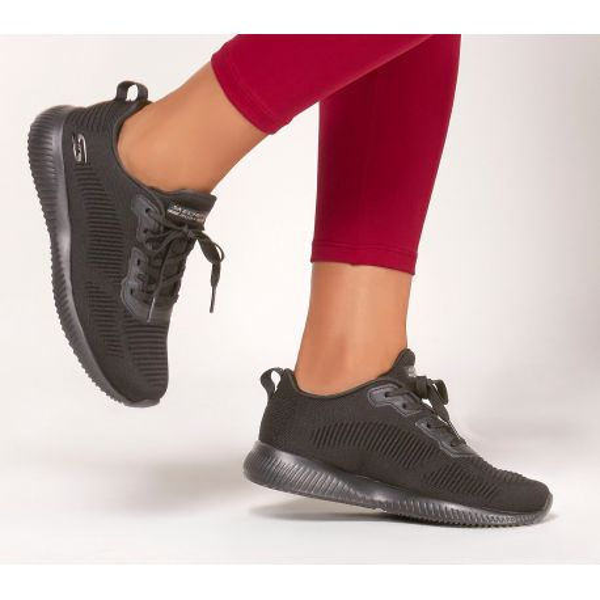 Baskets Femme Skechers Tough Talk Noire (32504) vue face