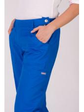"""Pantalon élastique, femme """"Katelyn"""", Koi (709-) bleu royal zoom"""
