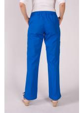 """Pantalon élastique, femme """"Katelyn"""", Koi (709-) bleu royal dos"""