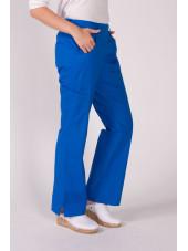 """Pantalon élastique, femme """"Katelyn"""", Koi (709-) bleu royal coté"""