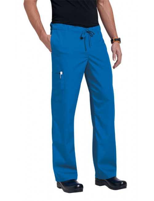 "Pantalon médical Unisexe ""Huntington"", Koi collection Orange (G3702)"