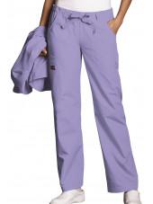 Pantalon médical Femme cordon et élastique, Cherokee Workwear Originals (4020) orchidée