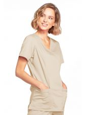 """Cache coeur femme Cherokee, Collection """"Core Stretch"""" (4728) beige"""