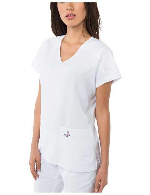 "Blouse médicale femme ""Cassie"", ""Koi "" (364-)"
