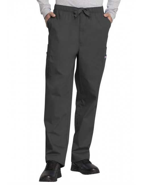 Pantalon médical cordon Homme, Cherokee Workwear Originals (4000) gris