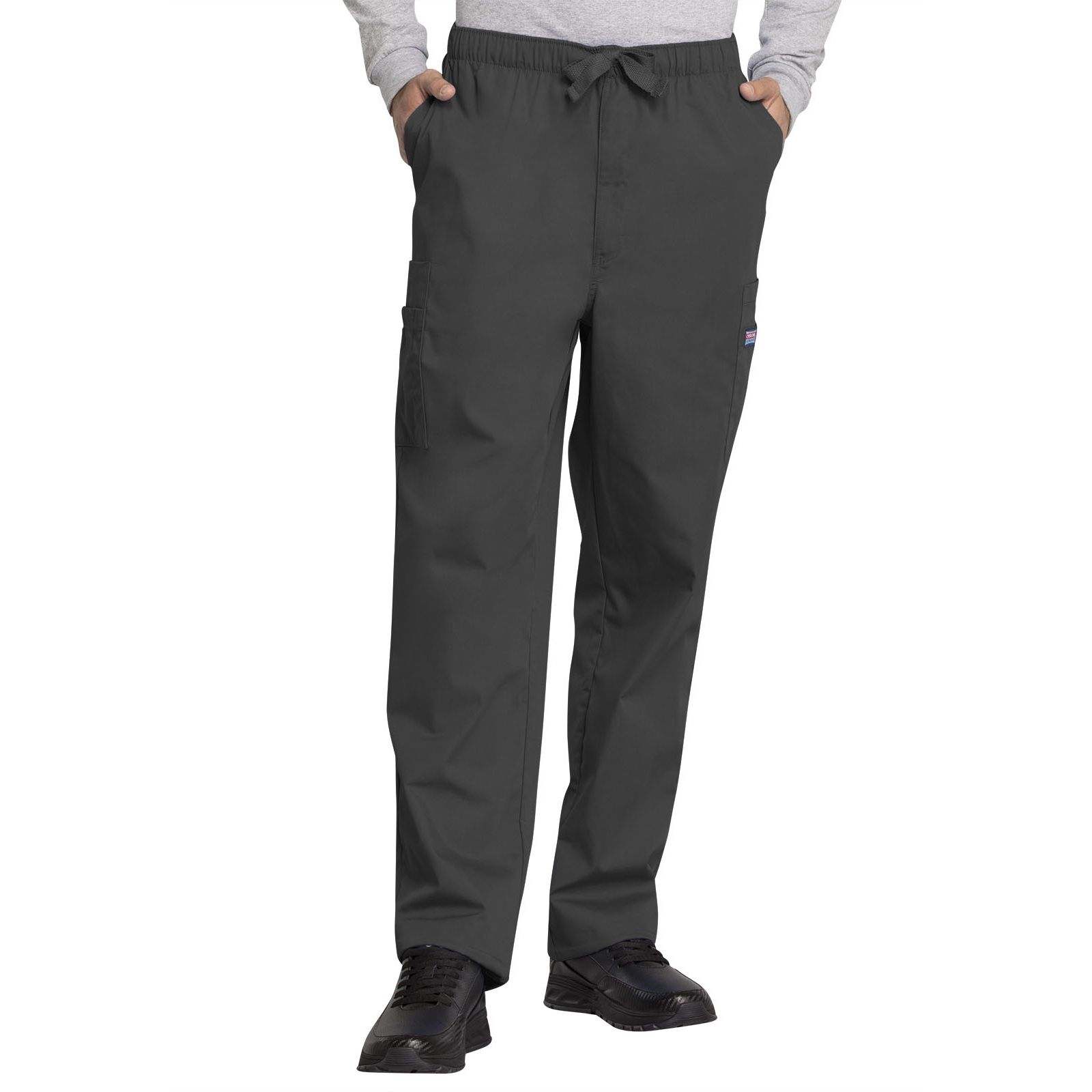 Pantalon médical cordon Homme, Cherokee Workwear Originals (4000) gris