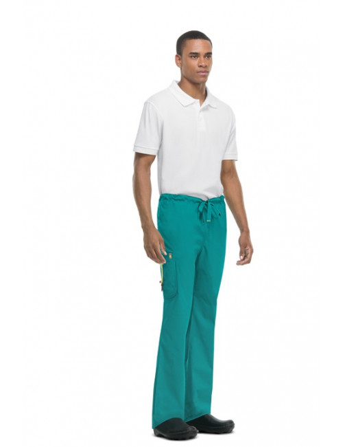 Anti-stain and antimicrobial pants for men, Code happy (16001AB)