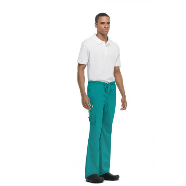 Pantalon anti-tâches et antimicrobien homme, Code happy (16001AB)