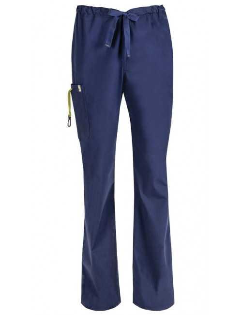 Pantalon médical anti-taches et antimicrobien homme, Code happy (16001AB)