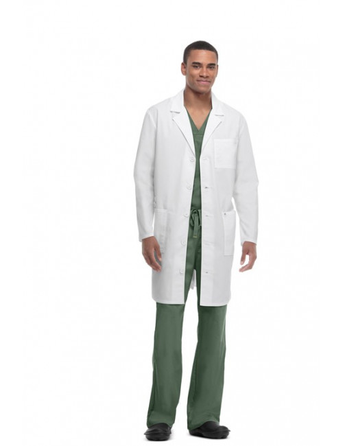 Lab Coat  Anti-taches et Antimicrobien Unisexe, Code Happy (36400AB)