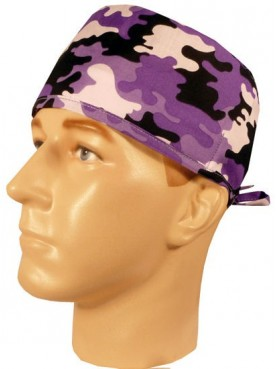 "Calot médical ""Purple Camo"" (210-8287)"