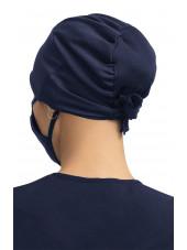 Calot Bleu marine Unisexe Koi (A161) dos
