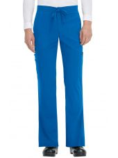 "Pantalon médical Homme Koi ""Luke"", collection ""Koi Basics"" (605-) bleu royal face"