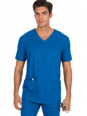 """Blouse médicale Homme Koi """"Tyler"""", collection """"Koi Stretch"""" (665-) royal face"""